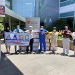 亞裔美好社區促進會 1萬個KN95口罩捐史丹福兒童醫院