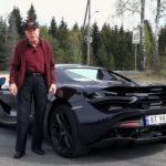 年長不適合開跑車?他78歲開McLaren 720S Spider通勤