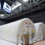 北京首座氣膜版「火眼」核酸檢測實驗室