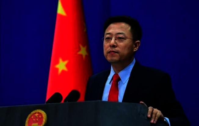 針對日本石垣市通過釣魚台「改名」議案,北京外交部發言人趙立堅表示,這是非法、無效的,是對中國領土主權的嚴重挑釁。(中新社)