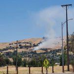 Alum Rock山區 23日野火燒10畝
