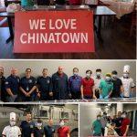 """美中餐饮业联合会""""我爱唐人街""""进行中向芝警局侦探部100多位警官捐赠爱心午餐"""