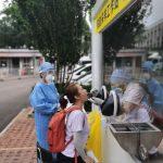 直擊北京首座戶外檢測站 2分鐘可採樣5人