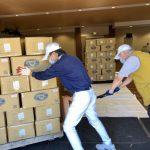台灣直送加州 慈濟捐香積飯、香積麵