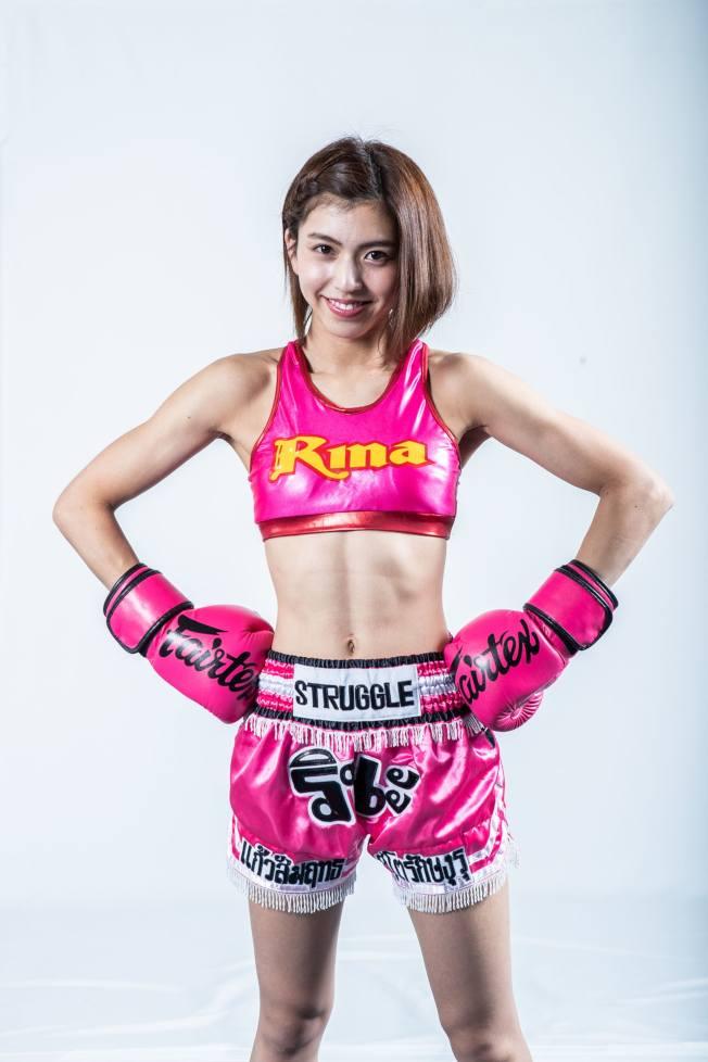 岡本璃奈擁有魔鬼身材、天使臉孔。(取材自日本knockout官網)