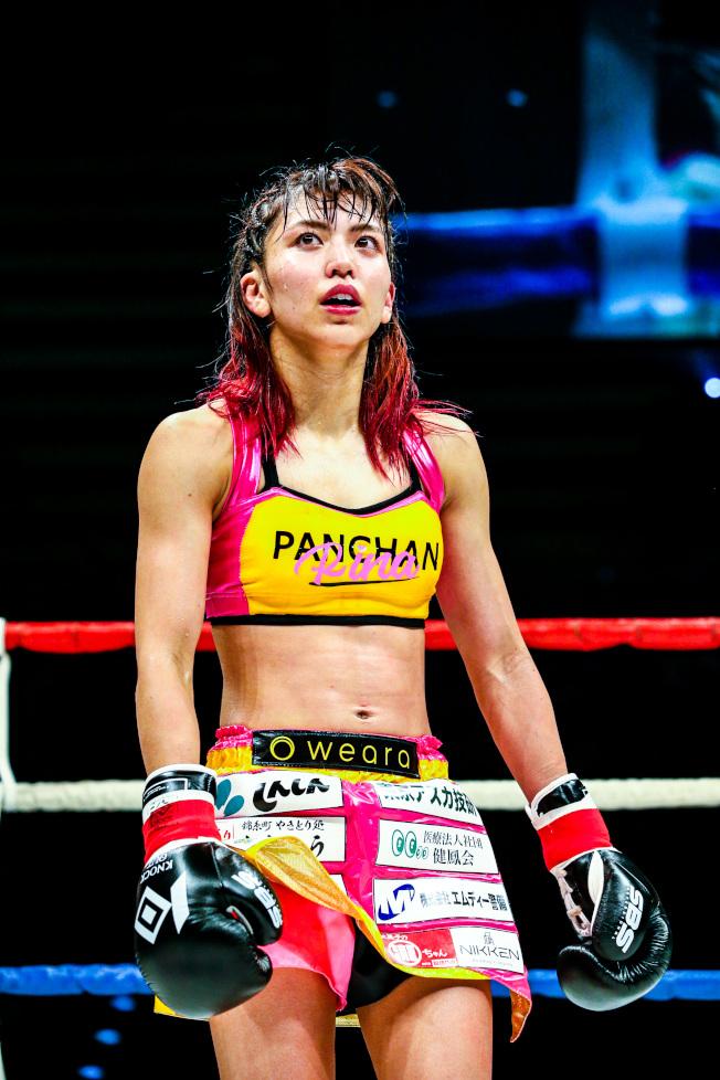 岡本璃奈在擂台上已經7連勝。(取材自日本knockout官網)