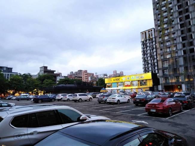 停車場示意圖。(記者陳秋雲/攝影)