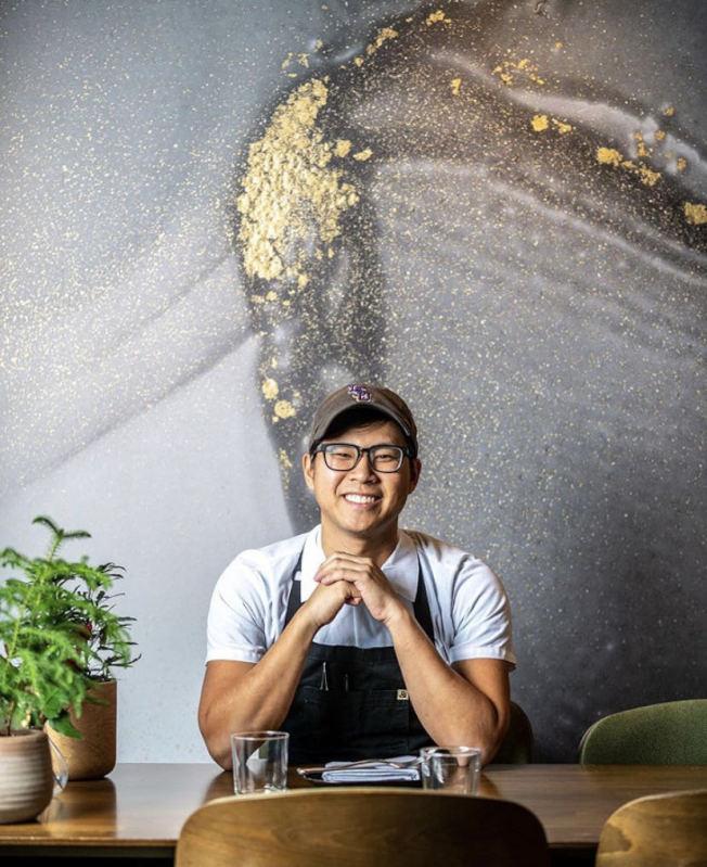 越華裔主廚田凱文近日因經營理念與合作夥伴不同,且不願在疫情之下為生意犧牲員工的安全健康,決定離開自己親手打造的餐廳。(Emilie's DC提供)