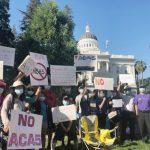 華裔民眾州府示威 反對ACA-5