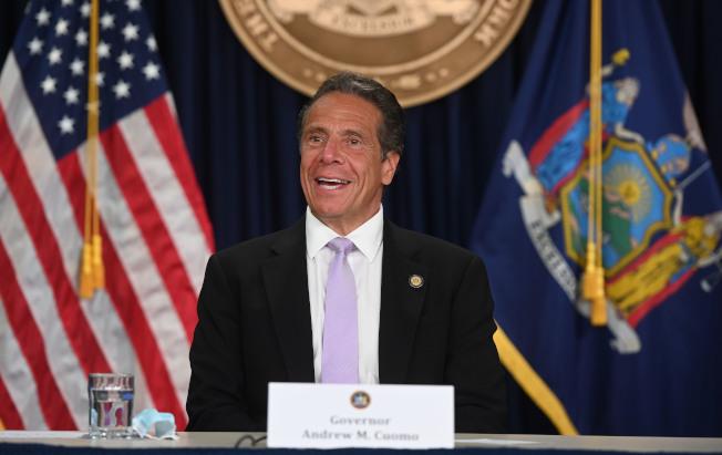 葛謨表示紐約會盡己所能幫助德州、佛州和亞利桑那州抗疫。(州長辦公室提供)