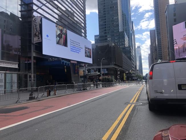 纽约市深陷财政危机,将裁员2.2万人,市民福利也会减少。(记者张晨/摄影)