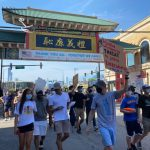 〈圖輯〉 芝華埠遊行 「支持非裔生命與尊嚴」