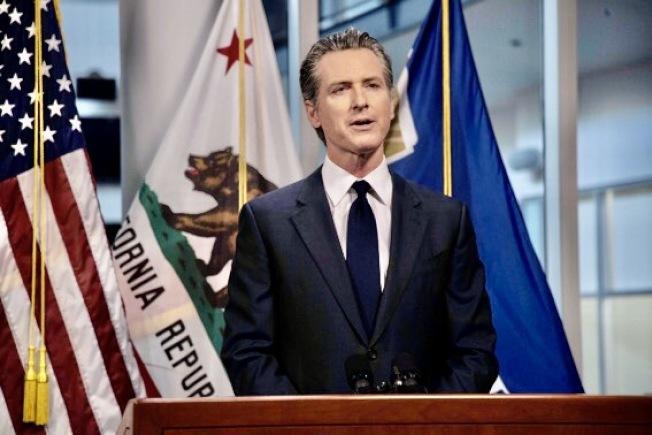 州長紐森認為加州的防疫形勢相當嚴峻。(州長辦公室提供)