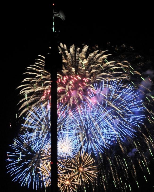 奧蘭多海洋世界將於7月3日至5日燃放煙火。(取自臉書官網)