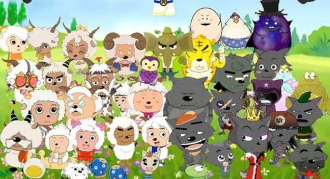 有網民調侃要舉報喜羊羊,因為他們不穿衣服。(視頻截圖)