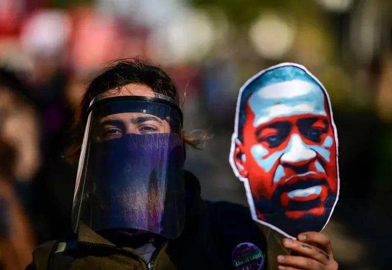 美國非裔男子佛洛伊德之死引發全美暴動,各地開始動用國民警衛隊支援當地的執法部門。Getty Images