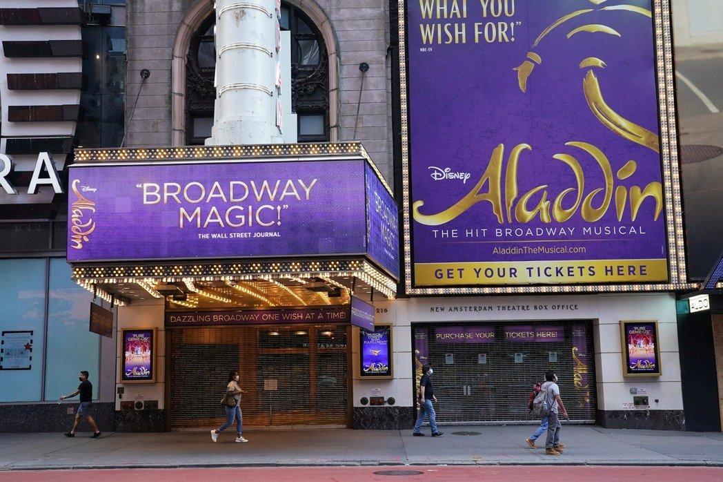 紐約百老匯劇場宣告停業至明年。路透資料照片