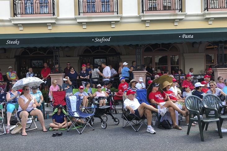 佛羅里達州的退休社區「村莊」(The Villages),過去素有「佛州最友善的小鎮」之稱。(美聯社)
