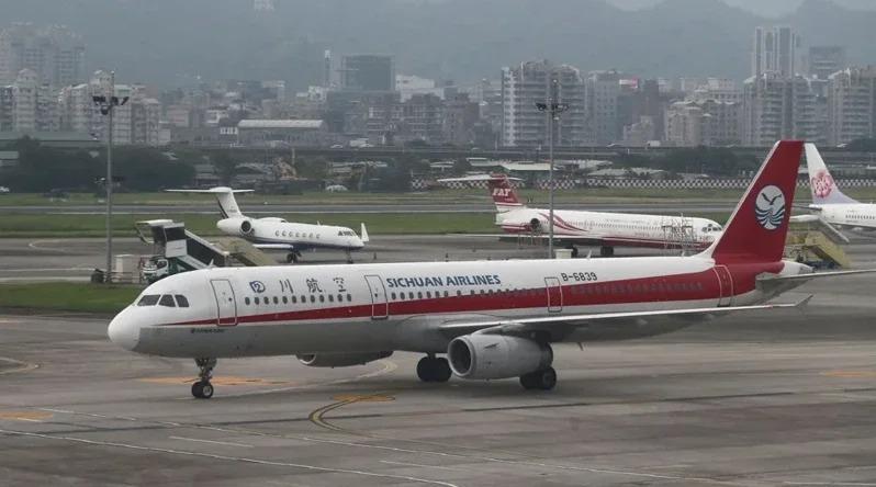 中國民航機。報系資料照片