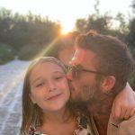 貝克漢女兒9歲生日 女兒傻瓜爸媽、妹控哥哥全發文慶祝