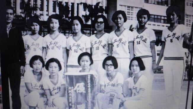 正修當年的女生籃球隊。