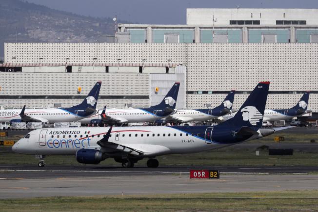 墨西哥國際航空公在美國聲請破產保護。(路透)