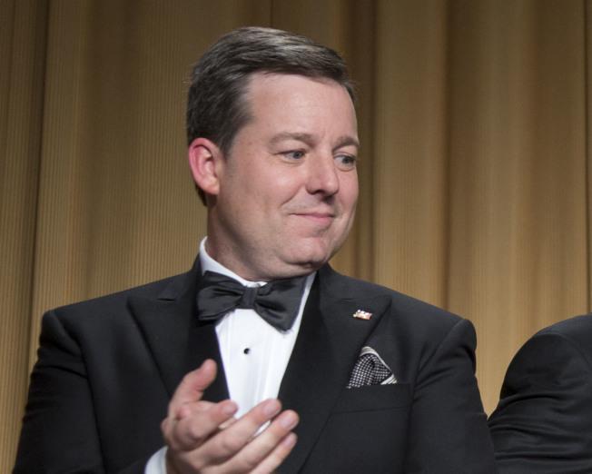 福斯新聞網(Fox News)日間時段知名主播亨瑞(Ed Henry,圖),遭控多年前涉嫌職場性騷擾,1日已被開除。美聯社