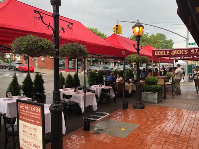 貝賽的貝爾大道與41大道入選「戶外餐廳」計畫,將幫助促進當地經濟復甦。(瓦隆辦公室提供)