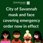 喬州首例 沙凡納公眾場合需戴口罩 違者罰500元