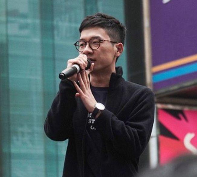 「香港眾志」創黨主席羅冠聰證實已離開香港。(取材自Instagram)