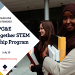 PG&E   STEM獎學金開放申請 最高1萬元