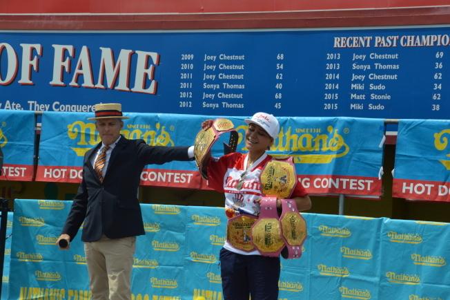 連續六年奪冠的日裔女性須藤美貴確定參賽。(本報檔案照)