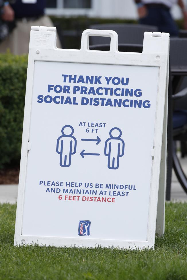 PGA大開方便門,只要複檢過關就能重返球道。(路透)