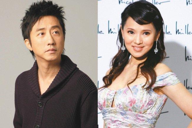 庾澄慶(左圖)被發現在網路上力挺前妻伊能靜。(本報資料照片)