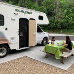 疫情下安心遊 華裔家庭露營車旅行 8天花不到2000