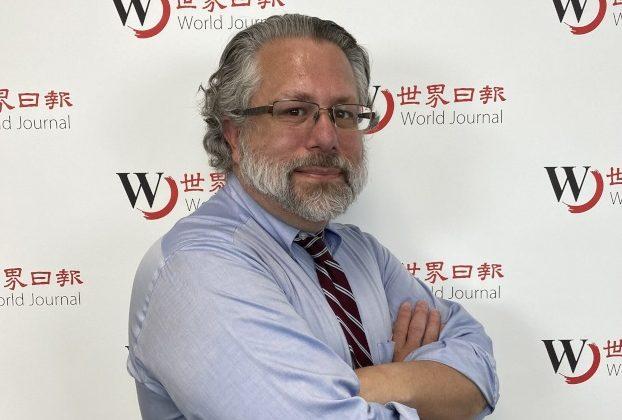 麥當勞線上教育研討會講師Peter Wamsteker。(魏斯晨/攝影)