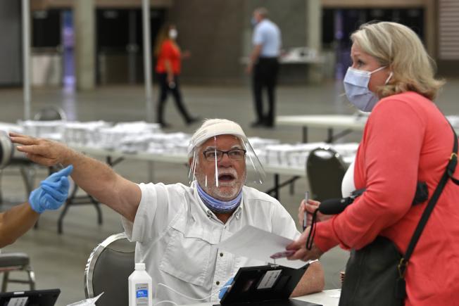銀髮族選票若在大選流失,對川普連任非常不利。(美聯社)