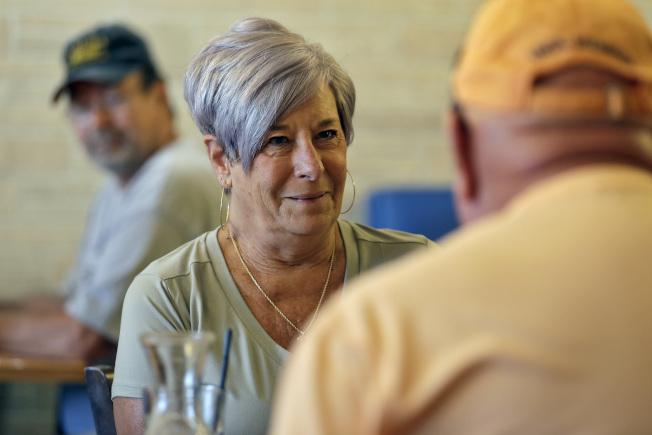 銀髮族選民對川普十分重要,但佛州有不少年長選民對川普表示失望。(美聯社)