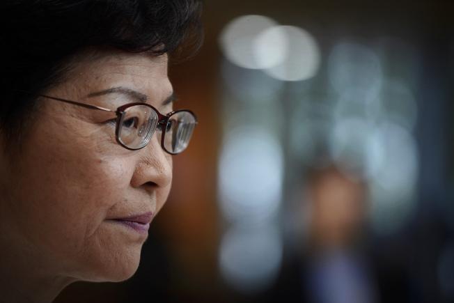 特首林鄭月娥同時兼任新成立的香港國安委主席。(美聯社)