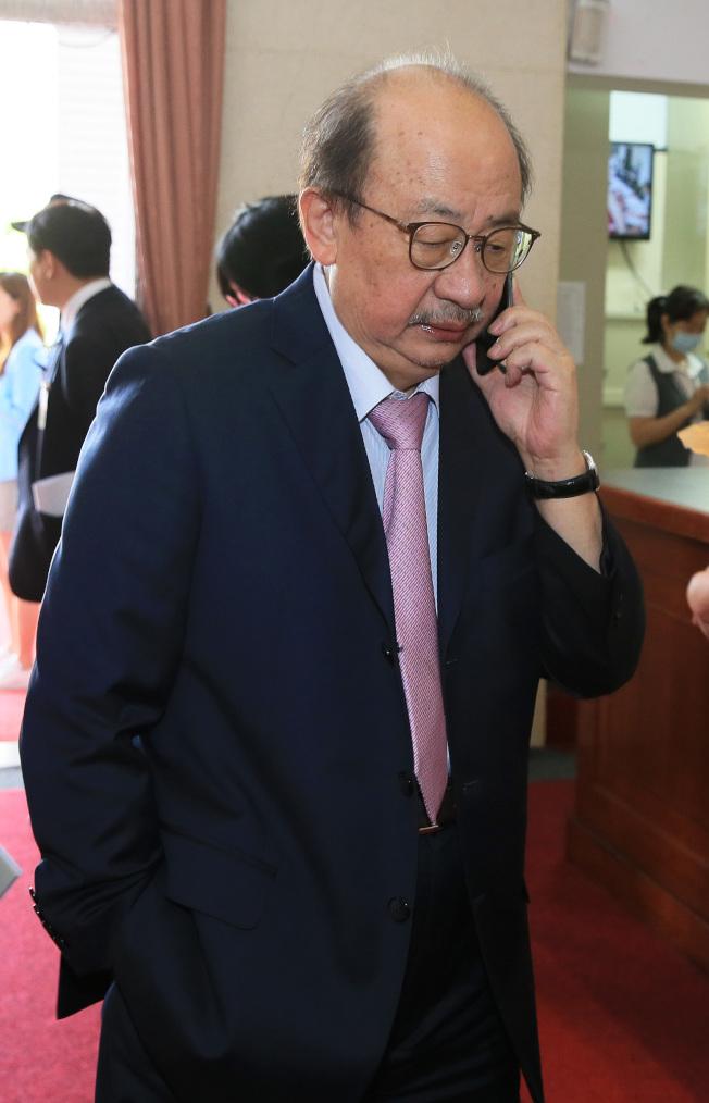民進黨團總召柯建銘。(記者潘俊宏/攝影)