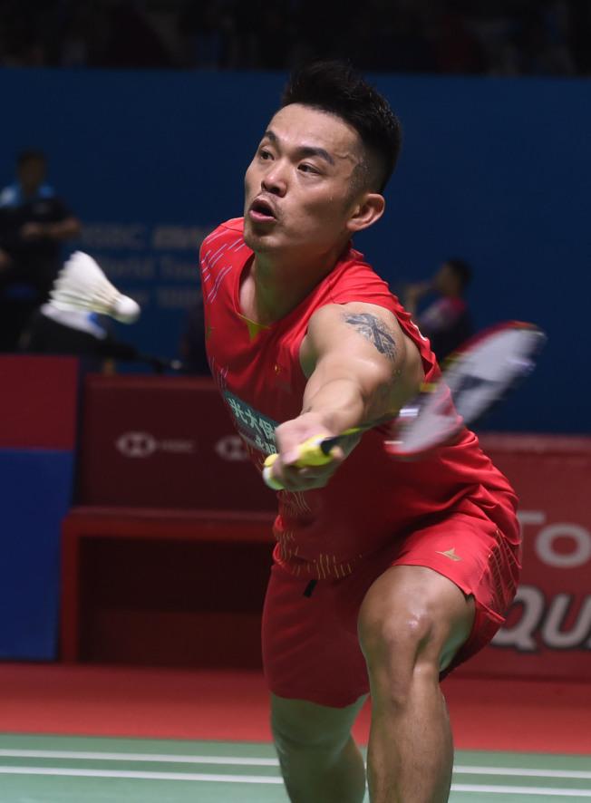 曾拿下兩面奧運金牌的中國羽球好手「超級丹」林丹,宣布高掛球拍。(新華社資料照片)