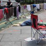 〈圖輯〉紐約曼哈頓市府公園變身「廢奴烏托邦」慶獨立日