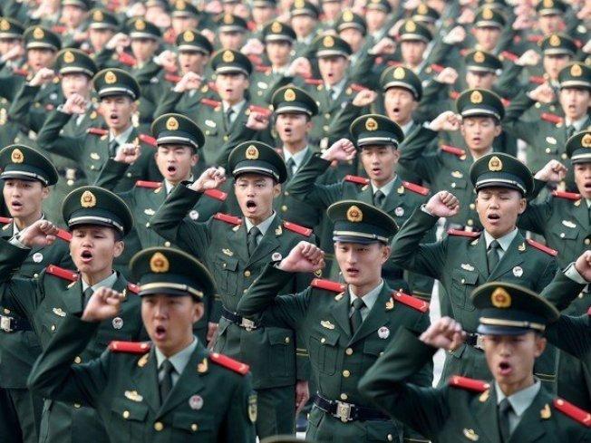 共同社北京分社透露,北京當局在港區國安法實施後,決定派遣200到300名武裝警察(武警)進駐香港。(新華社資料照)