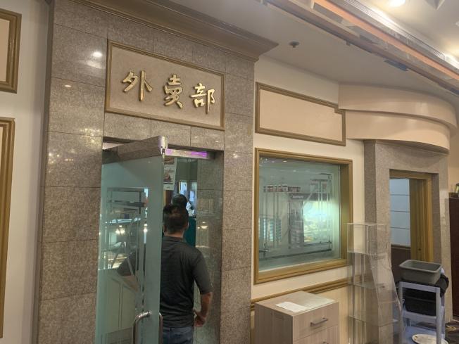 888海珍外賣部也日漸熱絡。(記者高梓原/攝影)
