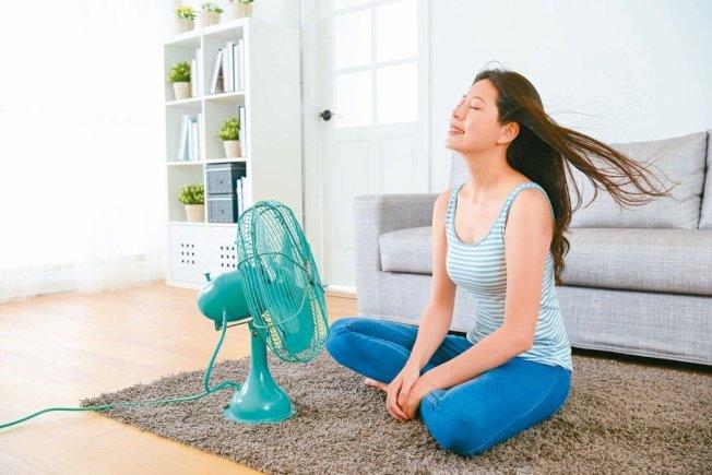 很多人不知道在家也會中暑。(取自123RF)