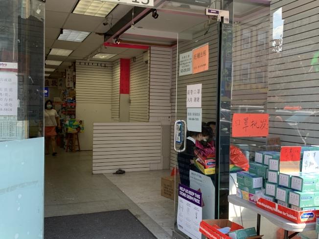 一些原本分租的小商家也徹底搬走。(記者黃伊奕/攝影)