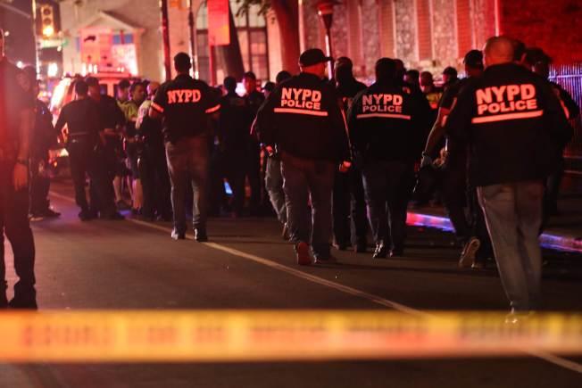 紐約市國慶節一晚41人中槍。(美聯社)