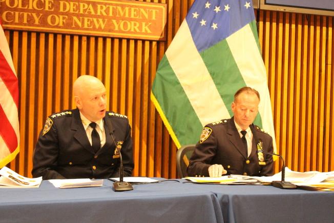 市警發布6月犯罪數據,指出槍擊案猛增130%。(記者張晨/攝影)