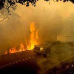 吉爾洛山火焚地2000畝 2建築燒毀1人傷