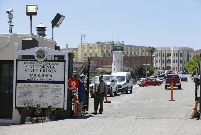 處理聖昆丁監獄疫情現在是加州的首要工作。(美聯社)